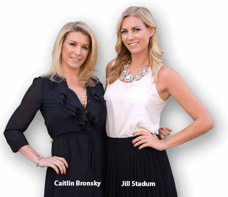 phoenix real estate experts Caitlin Bronsky and Jill Stadum